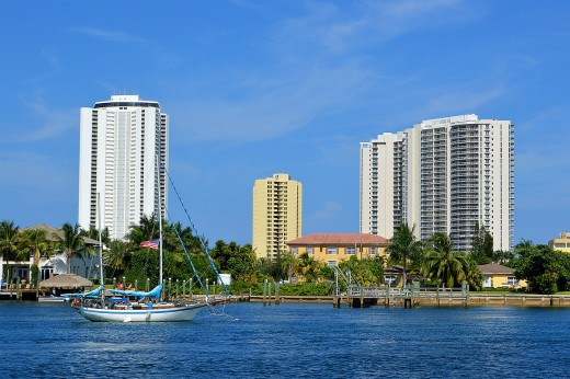 Singer Island sailboats